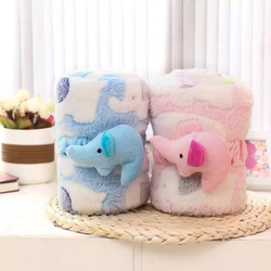 100cm 80cm baby blanket cute elepant jacquard flexible cotton velveteen blanket soft fleece blanket cloak.jpg 250x250