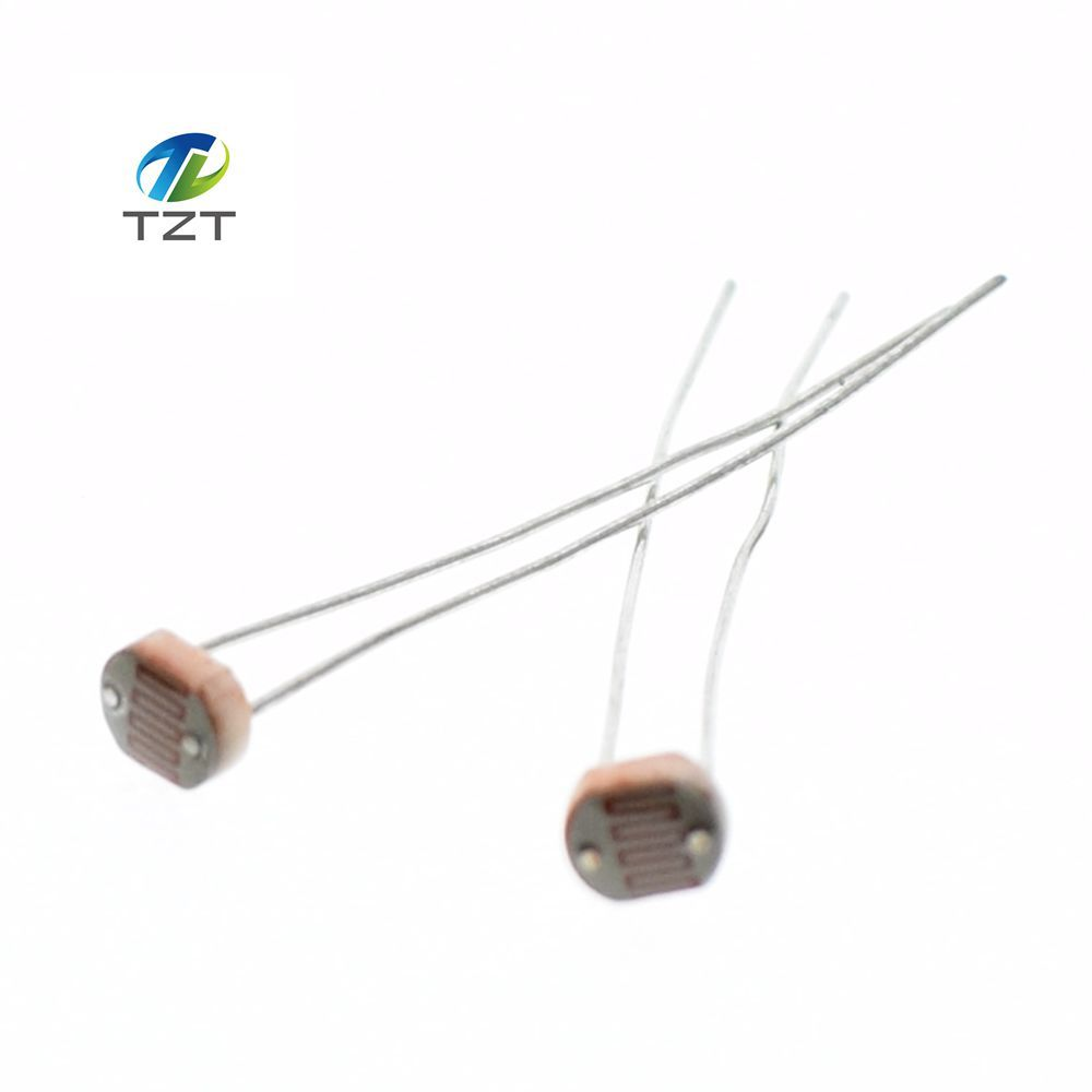 20pcs X 5506 Light Dependent Resistor Ldr 5mm Photoresistor Resistors Wholesale And Retail Photoconductive Resistance In Integrated Circuits From Electronic