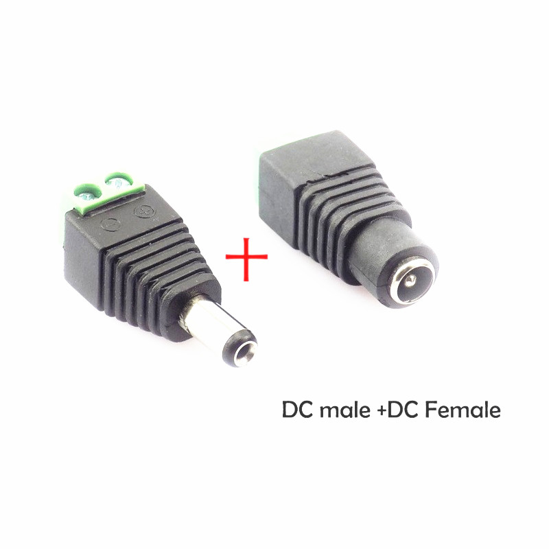10PCS 4 X 1.7mm DC Power Charger Plug metal shell  for Notebook cctv Cables