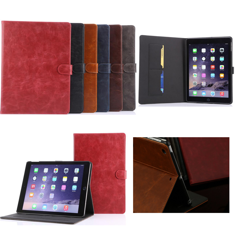 high quality fashion tablet stand Leather case cover for ipad 5 ipad air for Apple air1 Smart case A1474 A1475 A1476