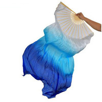 2017 Profession Belly Dance Accessories Women Belly Dance Rayon Fan Belly Dance Multicolor Fan Girls Belly