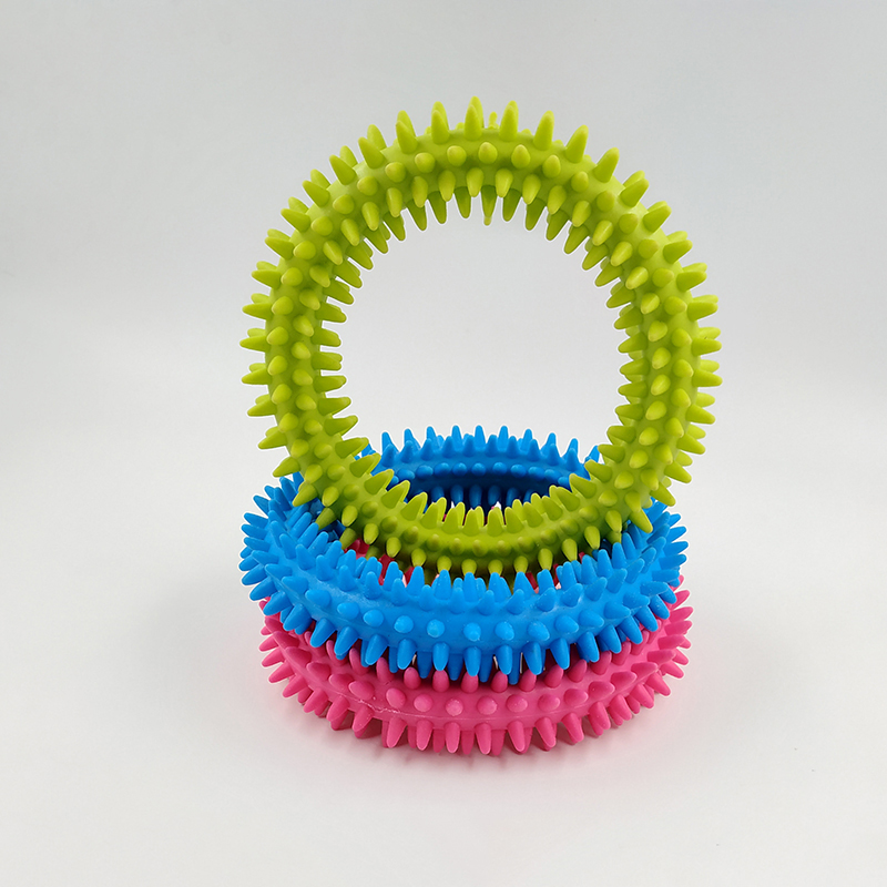 Image 5 - New Spiky Sensory Tactile Ring Children Autism Therapy Massage Bracelet Fidget Adult Sensory Toys Reduce Stress Children Gifts-in Gags & Practical Jokes from Toys & Hobbies