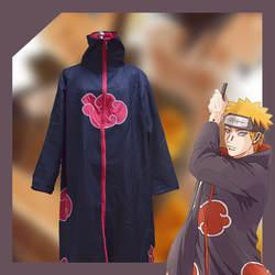 [Фото] Аниме! Наруто Учиха Итачи плащ форма Косплэй Хэллоуина пальто Одежда для Для мужчин; Бесплатная доставка