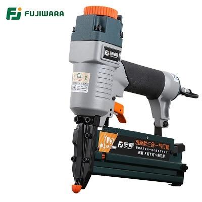 FUJIWARA 3-in-1 dailidės pneumatinis nagų pistoletas 18Ga / 20Ga - Elektriniai įrankiai - Nuotrauka 2