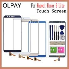 OLPAY 5.65 100% 新 Huawei 社名誉 9 Lite タッチスクリーンデジタイザパネルフロントガラスレンズの交換