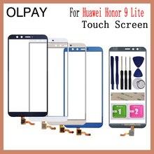 OLPAY 5.65 100% nowy ekran dotykowy dla Huawei Honor 9 Lite ekran dotykowy panel digitizera przedni szklany obiektyw wymienny czujnik