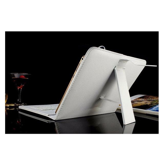 Teclado russa 10 polegada tablet couro caso para usar língua russa caso teclado micro usb para placa dispositivo tablet