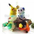 Pokemon plush toy pikachu Oshawott Snivy Tepig 4 pcs/set 30 cm stuffed collectibles doll toys