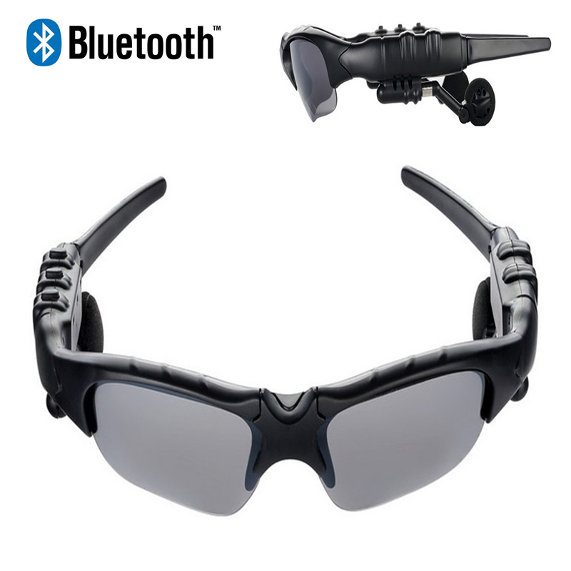 Wireless Bluetooth Earphone Sport Sunglasses Handsfree Music Earpiece Polarized Glasses Headphone With Mic For Moblie Phone stereo wireless earphones bluetooth 4 1 earphone sport waterproof anti sweat headphone handsfree mic earpiece for outdoor sport