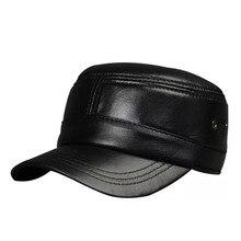 2018 nuevo estilo de los hombres de piel de oveja Real gorra de béisbol  marca Newsboy boina sombrero caliente del invierno sombr. 9fe4921ad04