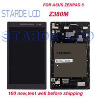 Grade AAA STARDE 8'' LCD for Asus ZenPad 8.0 Z380M LCD Display Z380 Touch Screen Digitizer Assembly with Frame