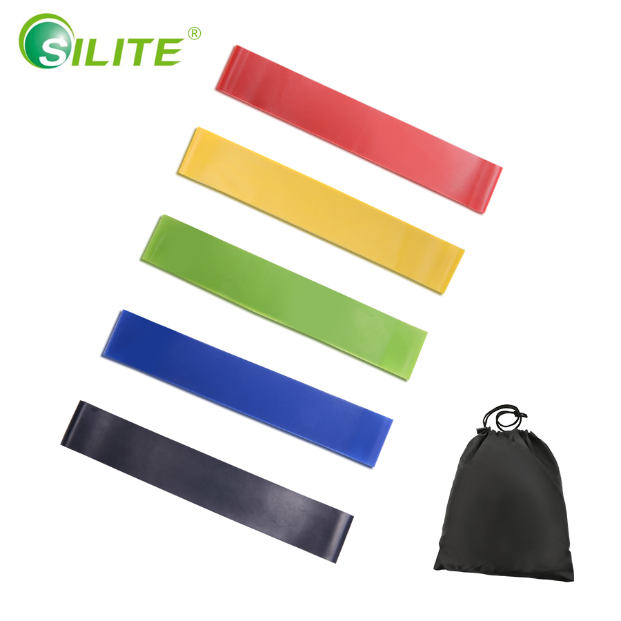 5pcs/Set Elastic Resistance Bands Workout Rubber Loop For Fitness Gym Strength Training Elastic Bands Fitness Equipment Expander durable gym fitness rally elastic rope total body workout tool home exercise sports strength training equipment health care