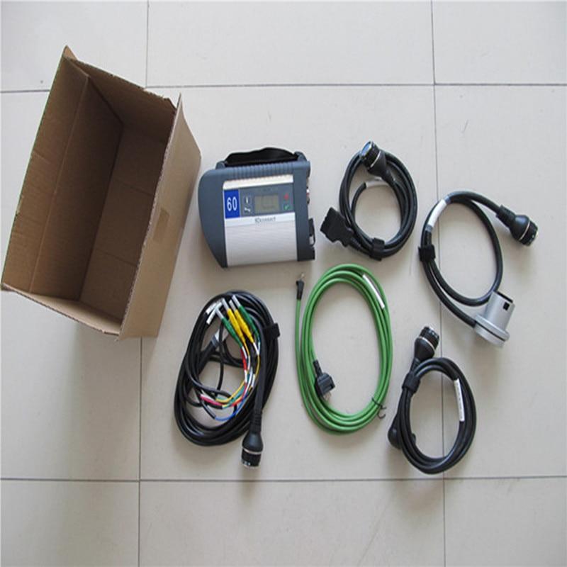Nouveau MB Star Compact 4 ensemble complet avec prise en charge wifi multi-langues SD Connect C4 pour Diagnostic Benz de bonne qualité