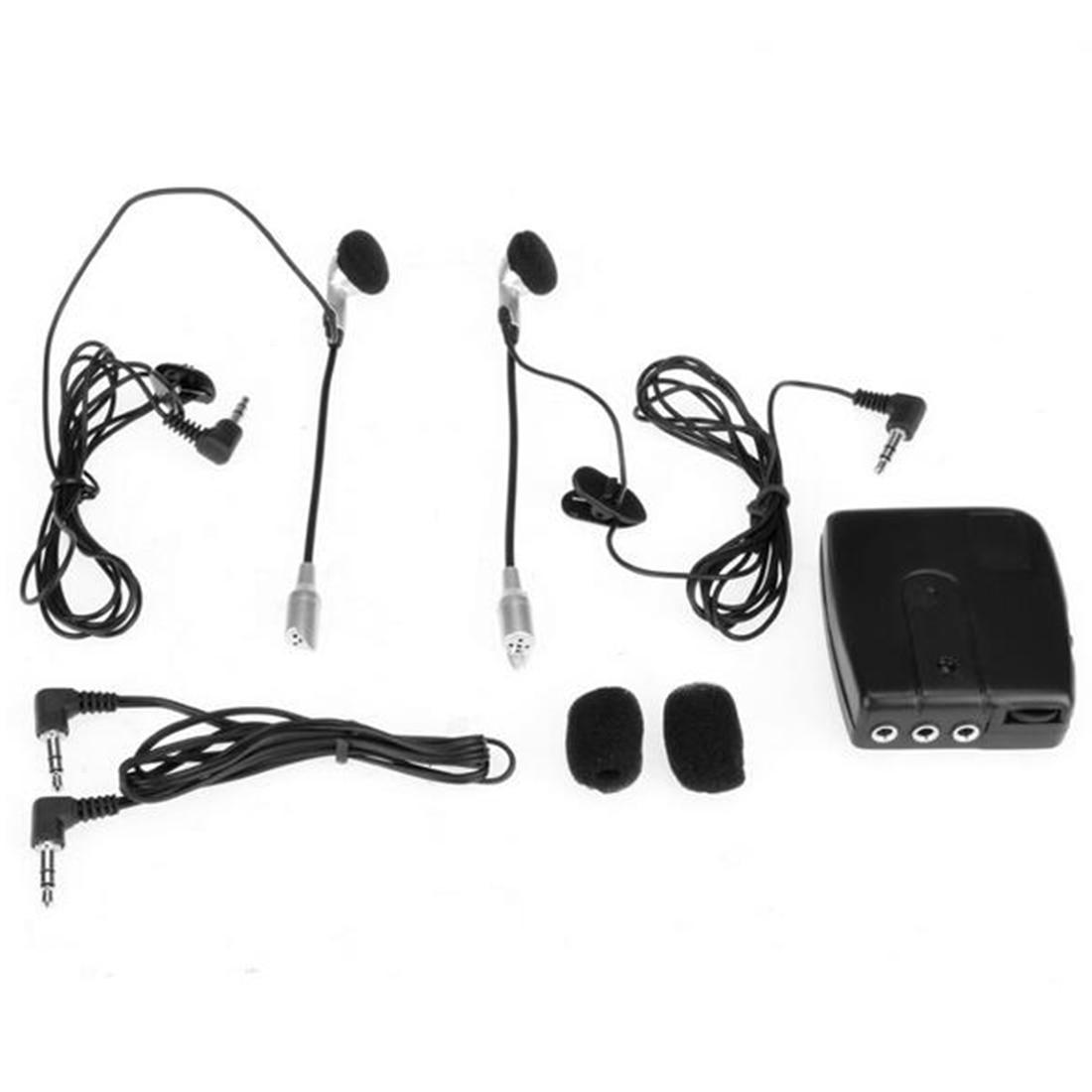 Dewtreetali 2 way Motorbike Intercom Motorcycle Helmet Headset Communication System Interphone motor Headset  Earphone