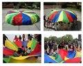 Envío Libre 2 m 78' Niño Niño El Desarrollo del Deporte Al Aire Libre Paraguas Del Arco Iris Juguete Del Paracaídas Salto saco Ballute Paracaídas Juego