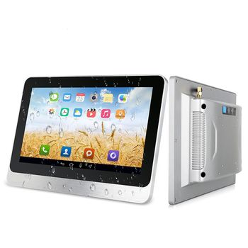 10.4 inch Industrial Touch Screen Panel PC/Resistive Touch Screen Rugged Computer All In One Tablet Mini PC Application Bank ATM фото