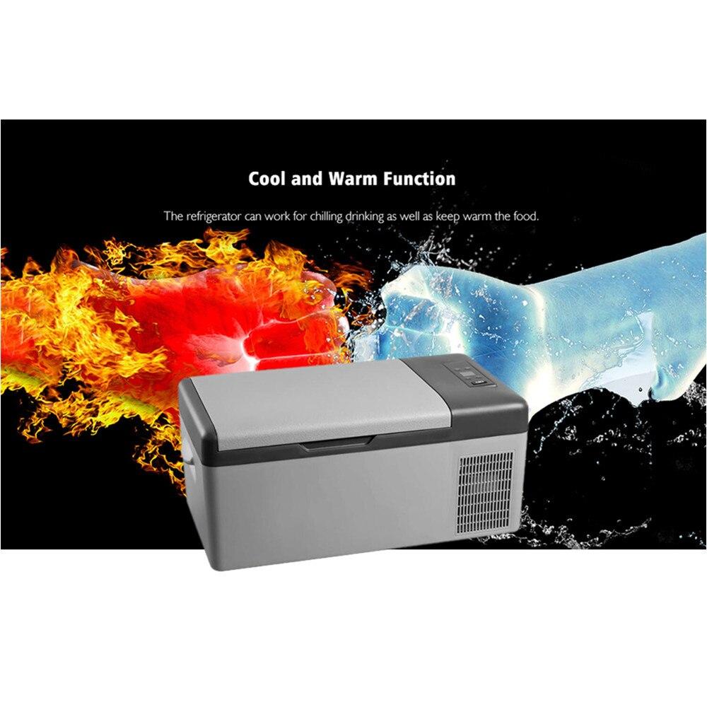 Alpicool Portable APP Conrtol Mini compresseur réfrigérateurs 15L Portable Mini Portable voiture réfrigérateur froid/chaud double usage DC12V/24 V - 6