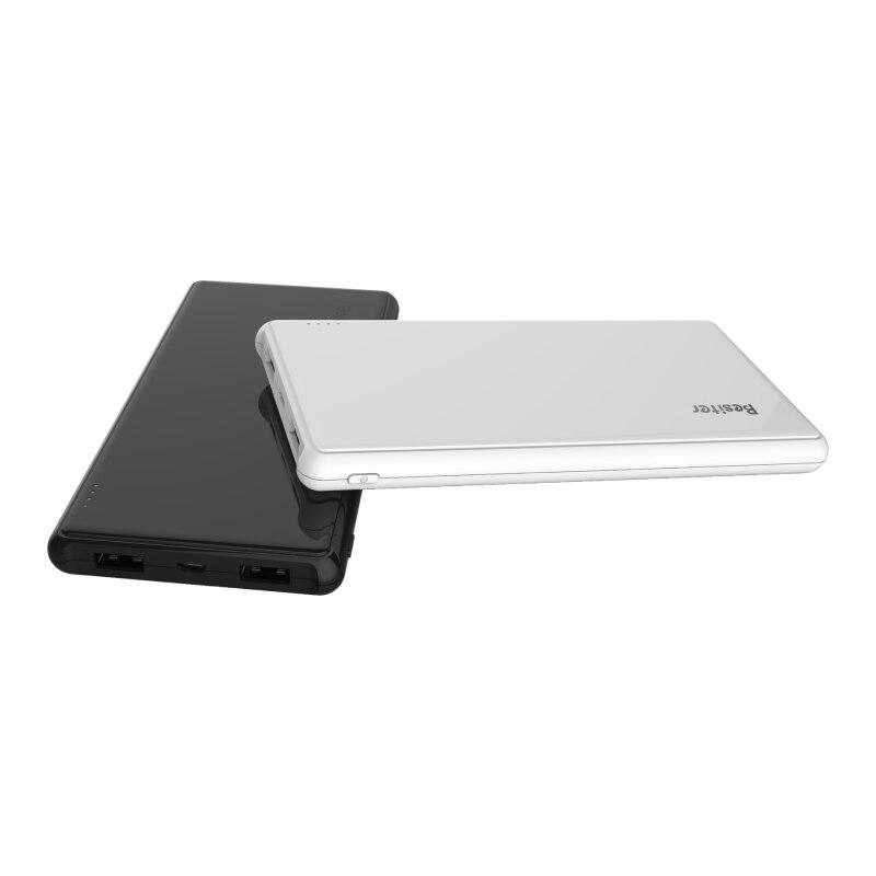 Besiter 5000 мАч ультра тонкий портативный внешний аккумулятор для смартфонов ноутбуков универсальное Внешнее зарядное устройство