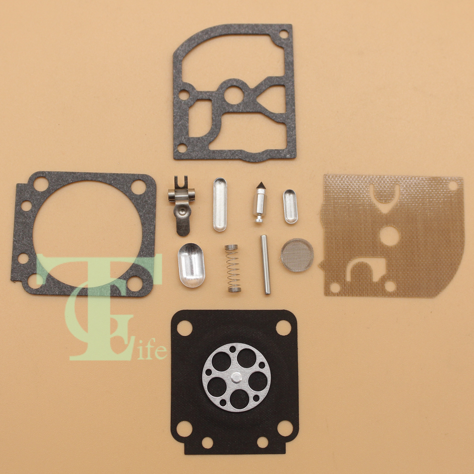 2Pcs/Lot Carburetor Repair Kit Fit Stihl MS180 018 MS170 017 ZAMA C1Q-S43 C1Q-S43A C1Q-S43B C1Q-S57 C1Q-S57A C1Q-S57B C1Q-S137