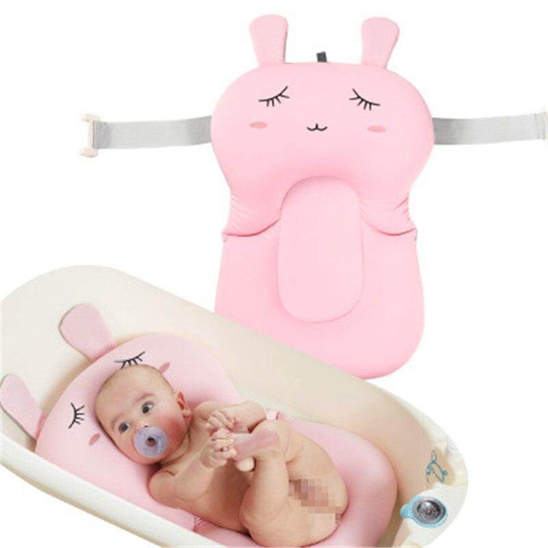 Mono Asiento para ba/ño de beb/é Apoyo Ba/ñera Net azul rosa