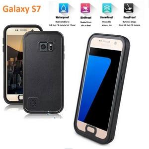 Image 5 - Voor Samsung Galaxy S7 G930 Sneeuw Proof Case Originele RedPepper IP68 Waterdichte Duiken Onderwater PC + TPU Armor Cover Volledige Cover