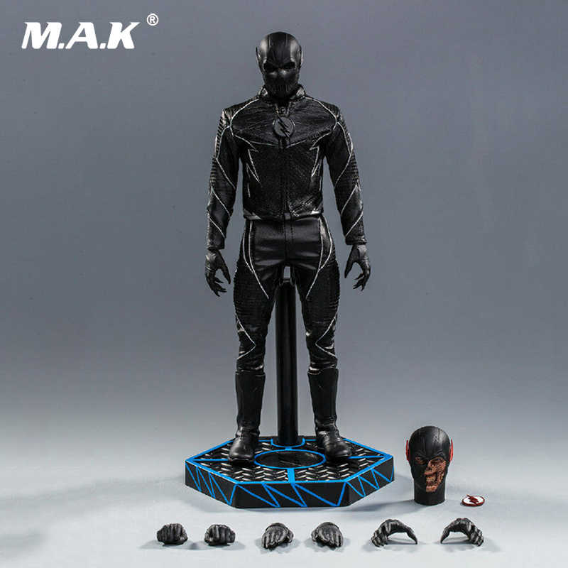 1/6 Volledige SetSoosootoys SST010 1/6 Dark Speedster Zwart Flash Figuur Box_Set Speelgoed Action Figure Voor Collection