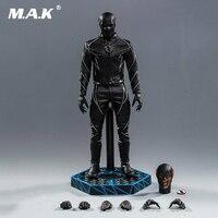 1/6 Full SetSoosootoys SST010 1/6 Dark Speedster Black Flash Figure Box_Set Toy Action Figure For Collection