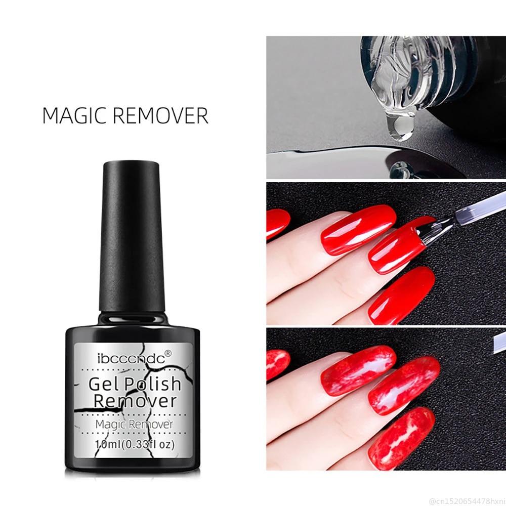 10ML 2minutes Magic Burst Remove Gel Soak Off Clean Easy Nail Polish Remover  UV Gel for Home Salon Nail Lacquer TSLM1 Nail Polish Remover  - AliExpress