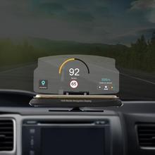 цены Auto Car GPS Tracker Universal 360 Rotatable Car HUD Head Up Display Speed Warning GPS Navigation HUD Bracket Head Up Display