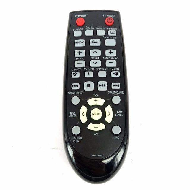 US $15 99  NEW Genuine Original for Samsung AH59 02546B AH5902546B Sound  Bar Remote Control for HW F551/ZA HW F550/ZA Fernbedienung-in Remote  Controls