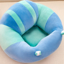 Baby Support Seat Plush Soft Baby Sofa Infant Learning To Sit Chair Keep Sitting Posture Comfortable For 0-6 Months Baby