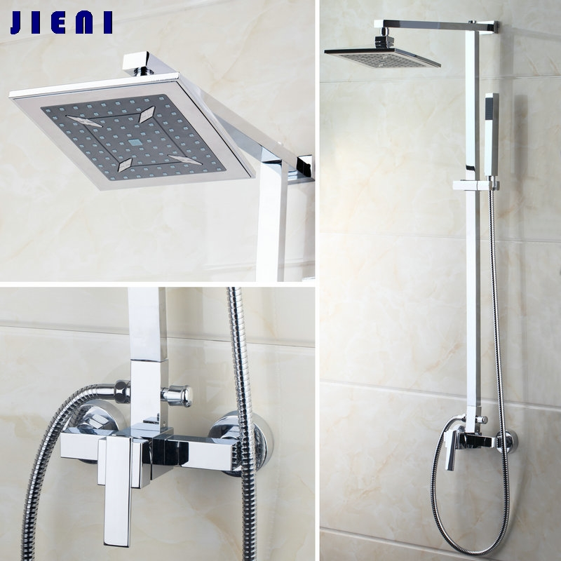"8"" ABS Rain Shower Head Bathroom 52004 Bathtub Chrome Sink ..."