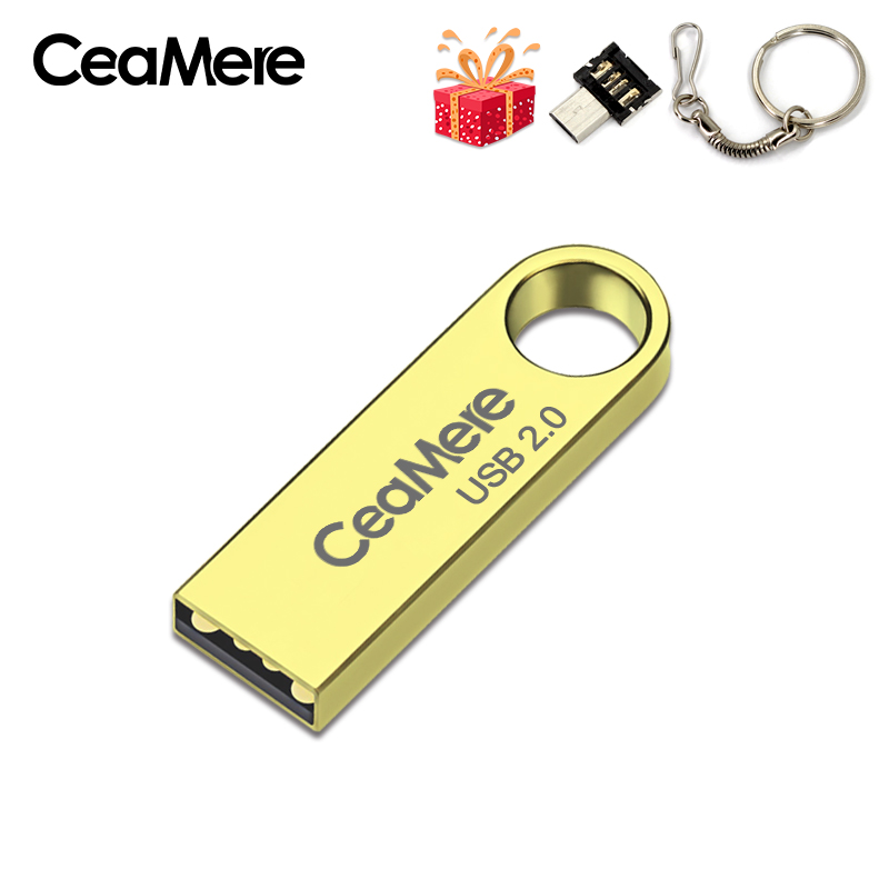 Image 5 - CeaMere C3 USB Flash Drive 16GB/32GB/64GB Pen Drive Pendrive USB 2.0 Flash Drive Memory stick  USB disk 3 Color USB FLASH DRIVE-in USB Flash Drives from Computer & Office