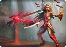 lol mousepad Will of the Blades Irelia mouse pad gaming mouse pad League large personalized mouse