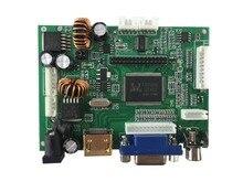 Suporte placa controladora LCD HDMI + AV + VGA e suporte resolução de até 1920X1080 (1080 p ).
