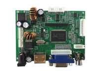 La carte contrôleur LCD prend en charge HDMI + AV + VGA et prend en charge la résolution jusqu'à 1920X1080 (1080 P).