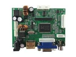 Placa de controlador LCD compatible con HDMI  AV  VGA y resolución de soporte de hasta 1920x1080 (1080 P).