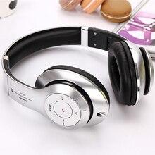 Wireless+Wired HIFI Headband Headphones 45mm Diaphragm Bass DJ Bluetooth Headset Foldable Stereo Headphones with Mic FM TF card