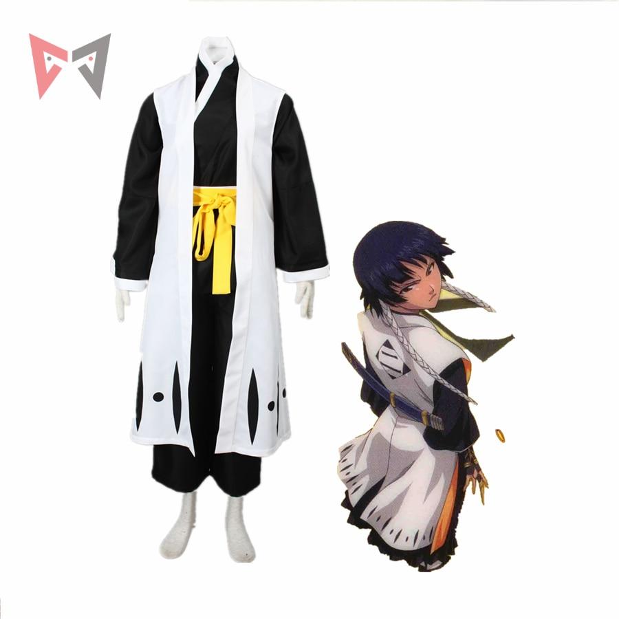 MMGG blanchiment cosplay Soi Fon costume Cosplay tenue Kimono