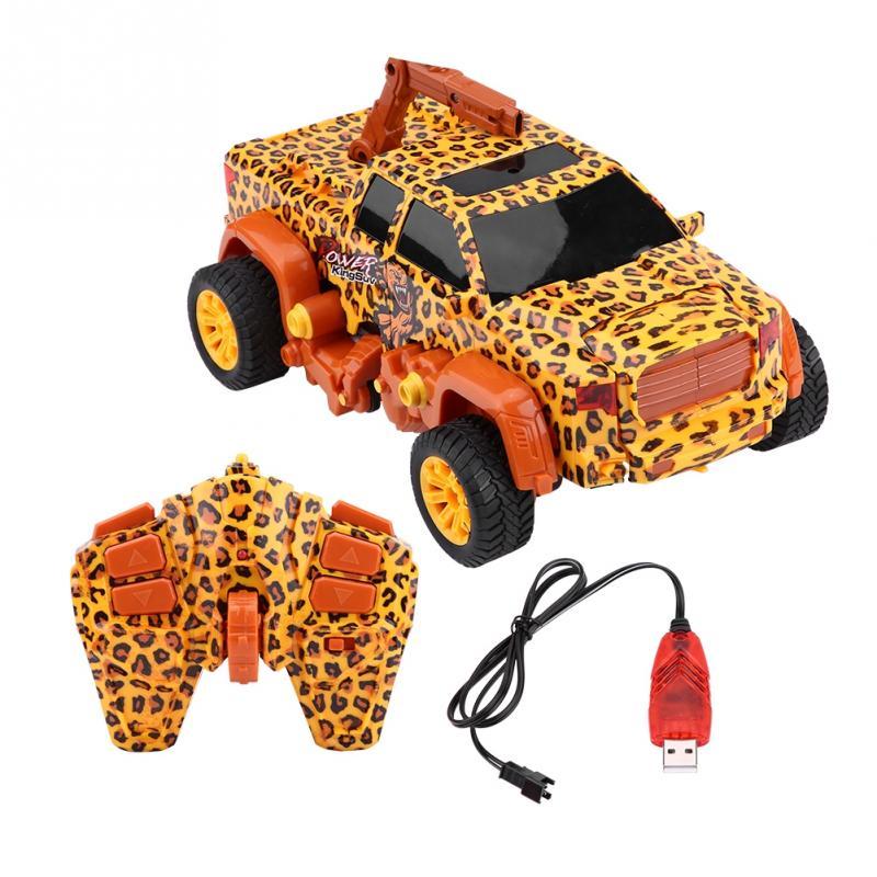 Sammeln & Seltenes Rc Spielzeug Fernbedienung Auto 360 Grad Rc Lkw Modell Fahrzeug Spielzeug Gelb Geschenk Baby Verformbaren Design/360 Grad Rotierenden