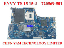 Wholesale laptop motherboard 720569-501 for HP TS 15 15-j HM87 750M/2G 720569-001 Notebook systemboard 100%Tested 90DaysWarranty