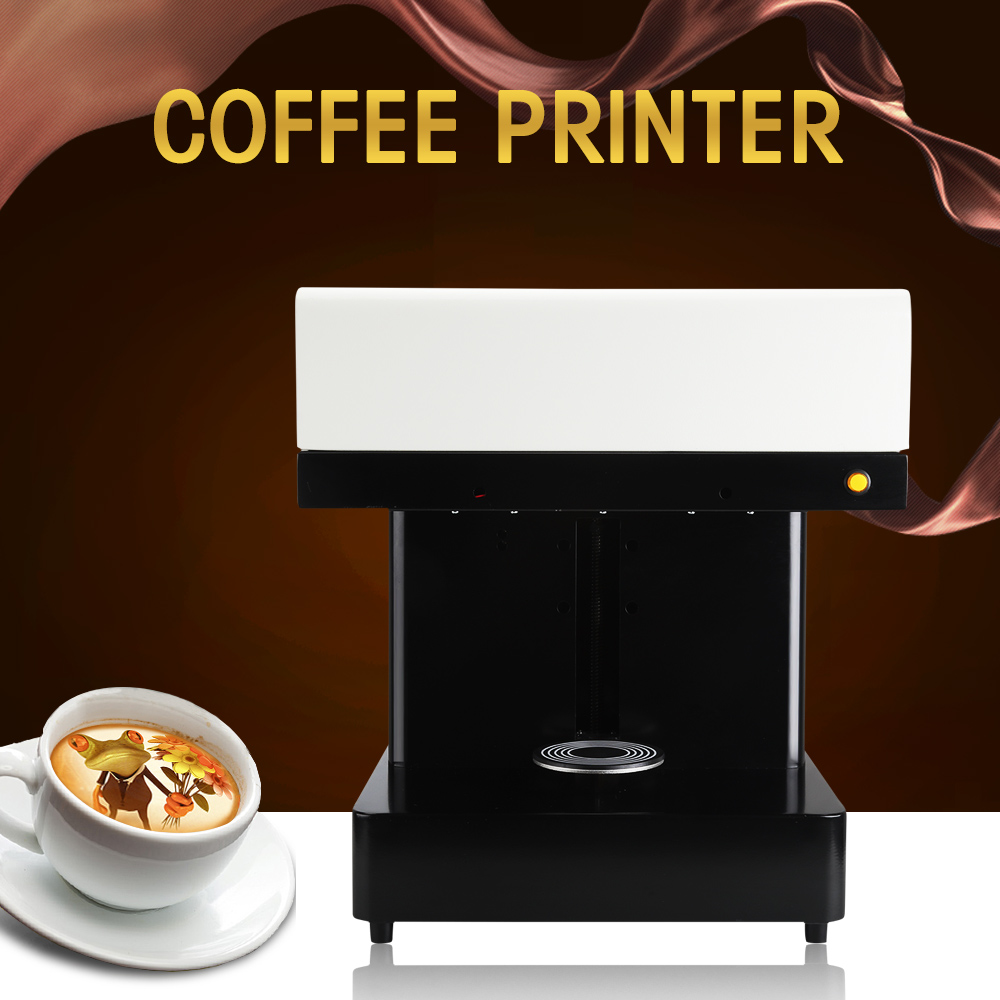 все цены на Wifi version Coffee Printer cake Printing machine edible Printer Selfie coffee printing machine with edible ink