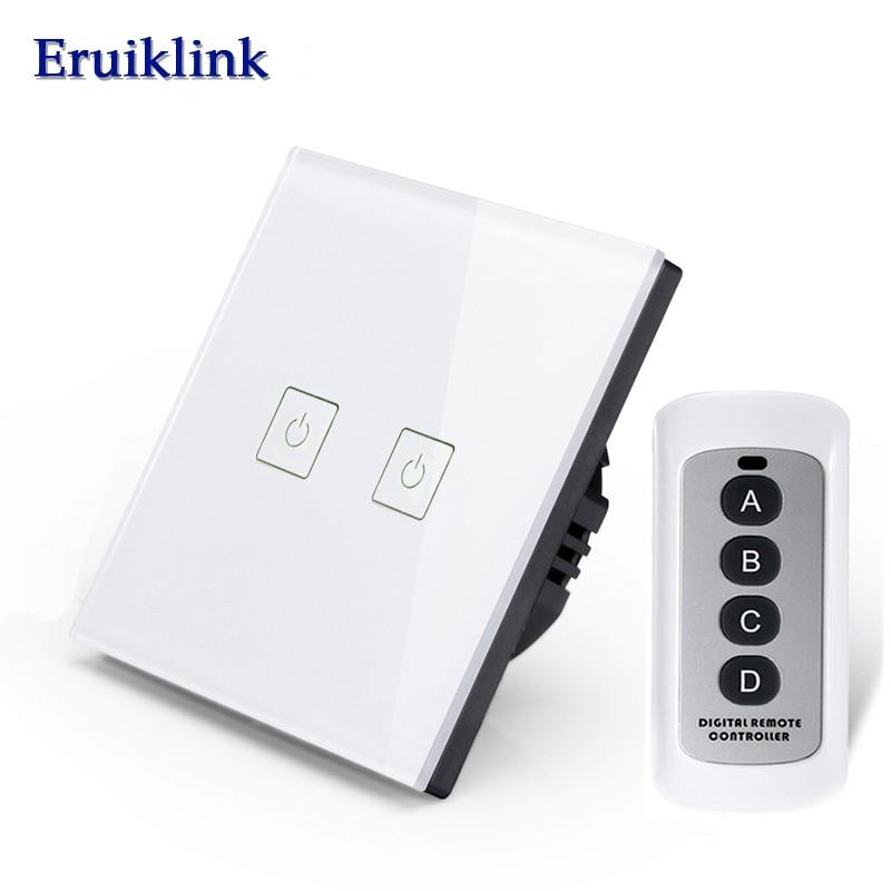 Interruptores e Relés way rf433 interruptor de toque Features : Remote Control Light Switch