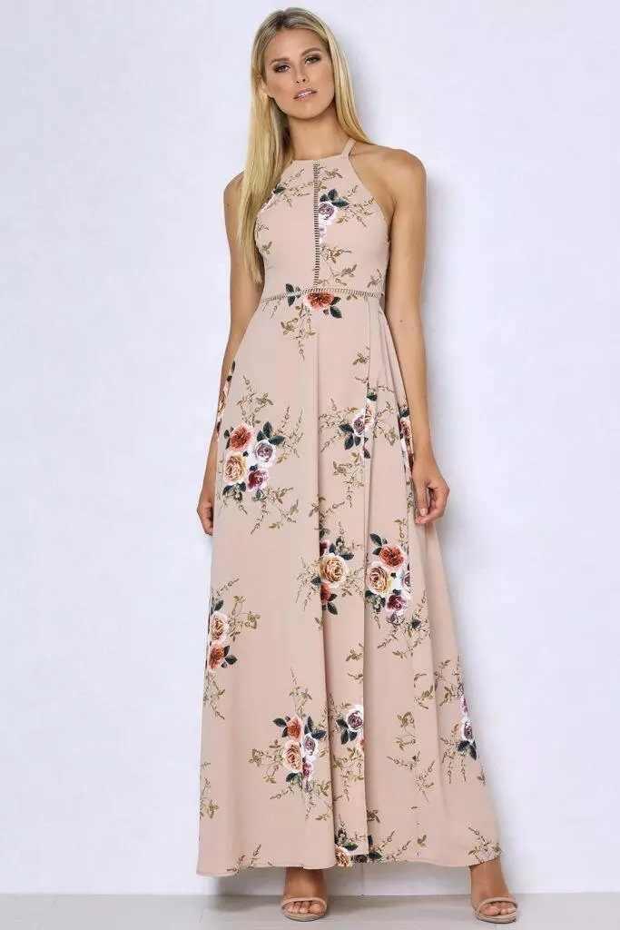 ファッションの女性のプリントドレスカジュアルセクシーなドレス夏のノースリーブドレス夏 Vestido エレガントなロングパーティーサンドレス