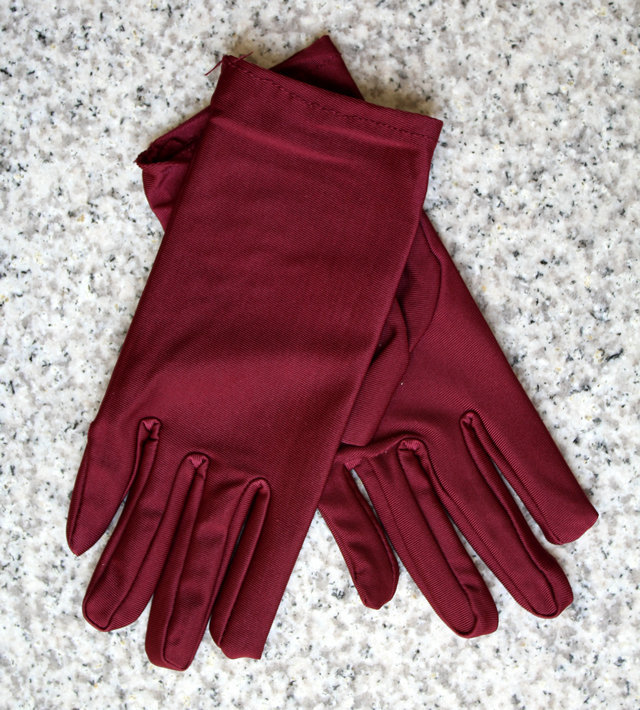 Купить с кэшбэком 6 pairs fashion lady's spring summer Autumn season liturgy protect glove  spandex elastic  jewelry and dance gloves