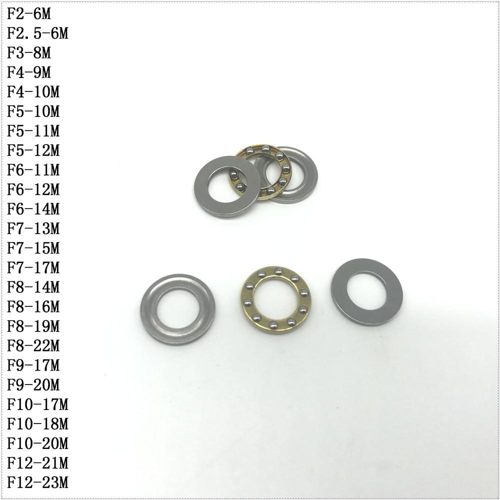 2PCS AXK1730 Axial Thrust Needle Rollor Bearing 17mm x 30mm x 2mm Free Shipping