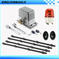 Automatic Motorized Sliding Electric Gate Openers With Remote Control +5M Nylon Gear Racks