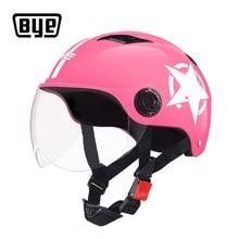BYE Motorcycle Helmet Full Face Unisex For Scooter Capacete Motocross Crash Riding Biker Motorbike Moto