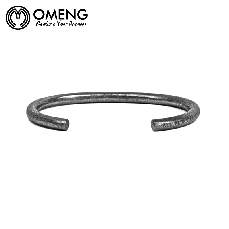 for bracelet bracelets brand item bangles rust accessories bangle from men jewelry iron black wide in cuff on stainless steel