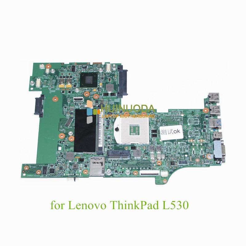FRU 04Y2022 for lenovo ThinkPad L530 15 Inch Laptop motherboard HD4000 SLJ8E DDR3 Onboard